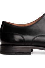 Leather Oxford shoes - Black - Men | H&M CN 4