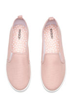 Slip-on canvas trainers - Pink - Ladies | H&M 2