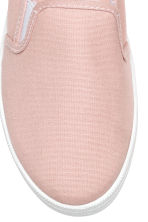 Slip-on canvas trainers - Pink - Ladies | H&M 3