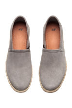 Suede espadrilles - Grey - Men | H&M CN 2