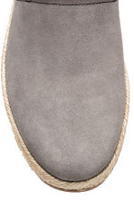 Suede espadrilles - Grey - Men | H&M 4