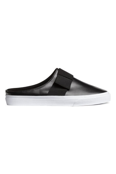 Slip-on trainers - Black - Ladies | H&M 1