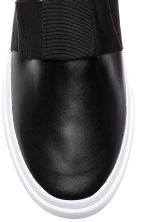 Slip-on trainers - Black - Ladies | H&M 3