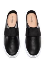 Slip-on trainers - Black - Ladies | H&M 2