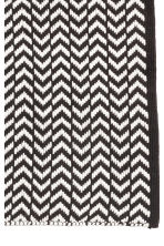 Jacquard-weave bath mat - Black/White/Patterned - Home All | H&M CN 2
