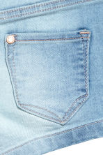 Denim shorts - Light denim blue -  | H&M 4