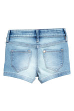Denim shorts - Light denim blue -  | H&M 3