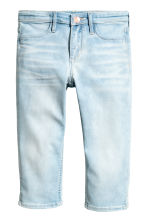 Skinny fit Capri Jeans - Pale denim blue -  | H&M CN 2