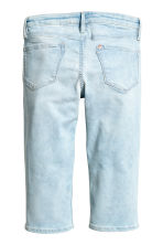 Skinny fit Capri Jeans - Pale denim blue -  | H&M CN 3