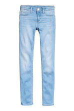 Superstretch Satin Jeans - Blu denim chiaro - BAMBINO | H&M IT 2