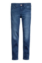 Superstretch Satin Jeans - Dark denim blue -  | H&M 2