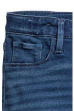 Superstretch Satin Jeans - Dark denim blue -  | H&M 5