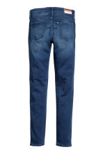 Superstretch Satin Jeans - Dark denim blue -  | H&M 3