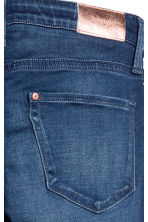 Superstretch Satin Jeans - Dark denim blue -  | H&M 4