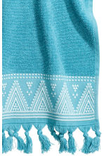 2-pack guest towels - Turquoise - Home All | H&M CN 4