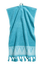 Lot de 2 essuie-mains - Turquoise - Home All | H&M FR 2