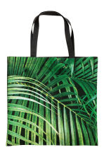 Borsa da mare fantasia - Verde/foglia - HOME | H&M IT 1