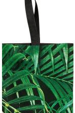 Patterned beach bag - Green/Leaf - Home All | H&M CN 2