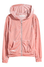 Hooded jacket - Old rose - Kids | H&M CN 2