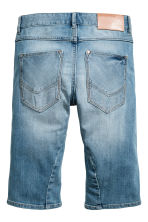 Tapered denim shorts - Denim blue -  | H&M 3