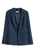 Fitted jacket - Dark blue - Ladies | H&M CN 2