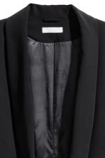 Shawl-collar jacket - Black - Ladies | H&M 3