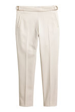Suit trousers - Light beige - Ladies | H&M CN 1