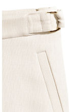 Suit trousers - Light beige - Ladies | H&M CN 2