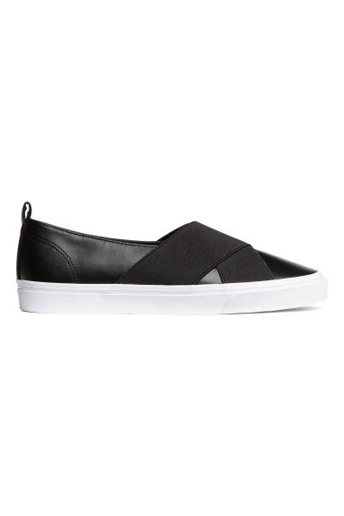 Slip-on trainers - Black - Ladies | H&M