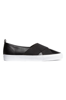 Slip-on trainers