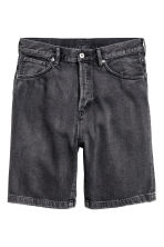 Short en jean - Noir washed out - HOMME | H&M FR 2