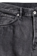 Short en jean - Noir washed out - HOMME | H&M FR 4