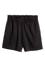 Wide shorts - Black - Ladies | H&M CN 2