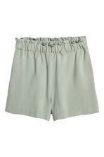 Wide shorts - Dusky green -  | H&M CN 2