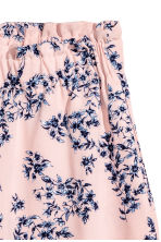 Wide shorts - Light pink/Floral - Ladies | H&M 3