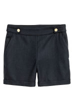 Tailored shorts - Dark blue - Ladies | H&M CN 2