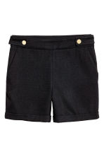 Tailored shorts - Black - Ladies | H&M 2