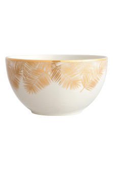 Printed porcelain bowl