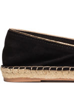 Espadrilles - Black - Ladies | H&M CN 5