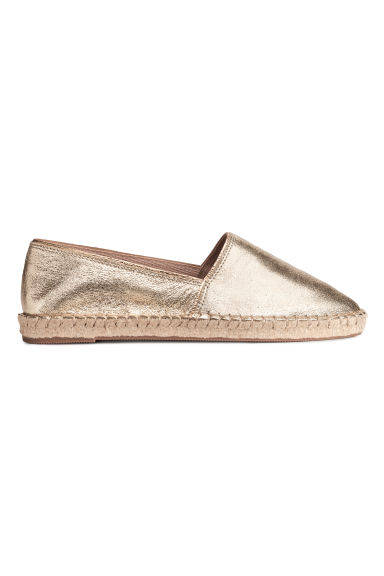 Espadrilles - Gold - Ladies | H&M