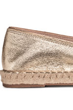 Espadrillas - Dorato - DONNA | H&M IT 4