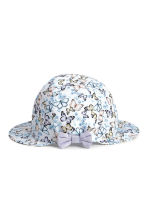 Sun hat - White/Butterflies - Kids | H&M 2