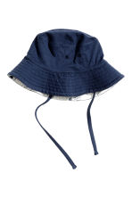 Reversible sun hat - Light grey marl - Kids | H&M 2