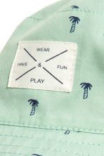 Reversible sun hat - Mint green/Palms - Kids | H&M 3