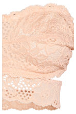 Lace bandeau bra - Powder - Ladies | H&M 2