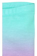 Jersey leggings - Turquoise/Purple -  | H&M 3