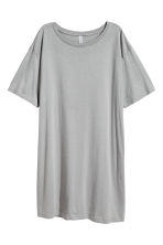 T-shirt dress - Grey - Ladies | H&M CN 2