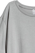 T-shirt dress - Grey - Ladies | H&M CN 3