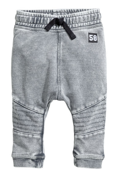 Joggers lavati - Grigio washed out -  | H&M IT 1