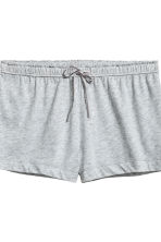 2-pack pyjama shorts - Grey/Pink striped - Ladies | H&M 4